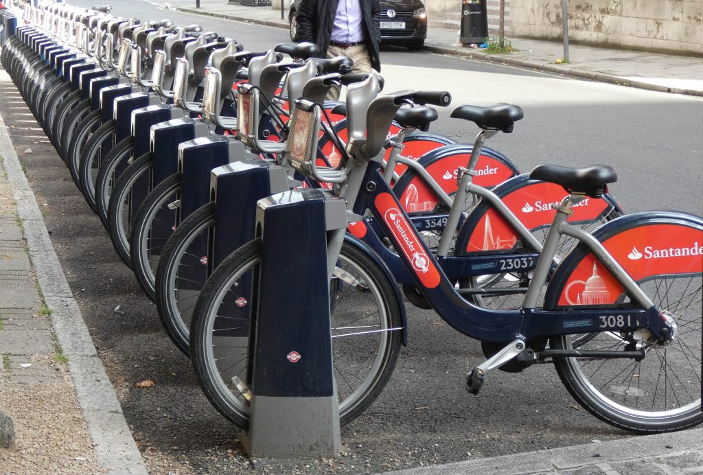 Next generation of Santander Cycles arrive in London